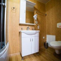 Гостиница Кватро в Новосибирске 2 отзыва об отеле, цены и фото номеров - забронировать гостиницу Кватро онлайн Новосибирск ванная фото 2