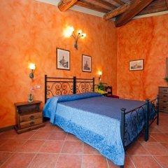 Отель Villa Di Nottola 4* Номер Делюкс с различными типами кроватей фото 4