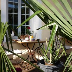 Отель Hôtel Villa Victorine Франция, Ницца - отзывы, цены и фото номеров - забронировать отель Hôtel Villa Victorine онлайн балкон