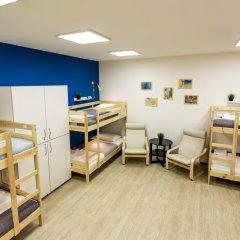 Хостел PoduShkinn Кровать в общем номере двухъярусные кровати фото 10