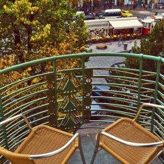 Отель Meran Чехия, Прага - 7 отзывов об отеле, цены и фото номеров - забронировать отель Meran онлайн балкон