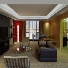 Radisson Blu Hotel, Dubai Media City 4* Стандартный номер с различными типами кроватей фото 2