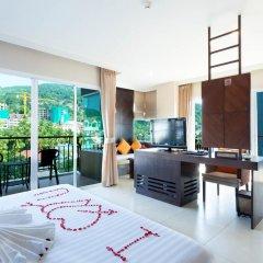 Andakira Hotel 4* Улучшенный номер с двуспальной кроватью фото 5