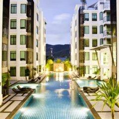 Отель Penthouse Kamala Regent A 501 бассейн