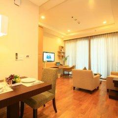 Отель 39 Boulevard Executive Residence 4* Улучшенные апартаменты с различными типами кроватей фото 2