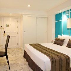 Отель Grand President Bangkok 4* Студия с различными типами кроватей фото 2