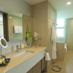 Отель Amari Residences Bangkok 4* Студия Делюкс с различными типами кроватей фото 7