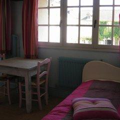 Отель Chambres d'Hôtes Manoir Du Chêne Стандартный номер с разными типами кроватей фото 2