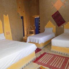 Отель Auberge Les Roches Марокко, Мерзуга - отзывы, цены и фото номеров - забронировать отель Auberge Les Roches онлайн комната для гостей фото 2