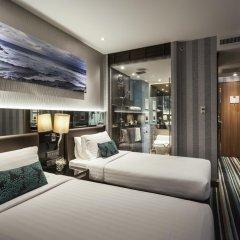 Отель The Continent Bangkok by Compass Hospitality 4* Стандартный номер с различными типами кроватей фото 36