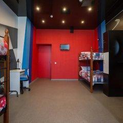 Hostel Racing Paradise Кровать в общем номере с двухъярусной кроватью фото 32