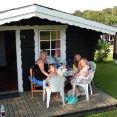 Отель Skovlund Camping & Cottages Коттедж Эконом фото 2