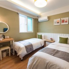 Hotel QB Seoul Dongdaemun 2* Стандартный номер с 2 отдельными кроватями фото 6