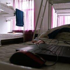 Хостел Online Кровать в общем номере с двухъярусной кроватью фото 4