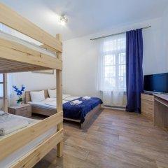 Aquamarine Hotel 3* Стандартный семейный номер с разными типами кроватей фото 5