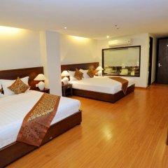 Hanoi Golden Hotel 3* Семейный люкс с двуспальной кроватью фото 2