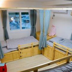Отель I'm Green House 3* Кровать в общем номере с двухъярусной кроватью фото 10