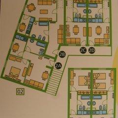 Отель Hospedaria Verdemar Апартаменты с различными типами кроватей фото 41