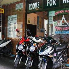 Отель Patong Rose Guesthouse парковка