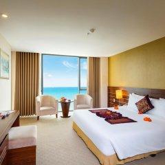 Muong Thanh Grand Nha Trang Hotel 4* Номер Делюкс с различными типами кроватей фото 2
