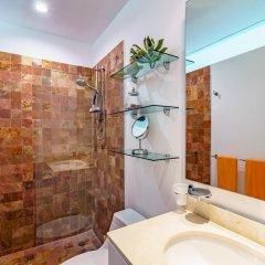 Отель Papaya 15 Apartments Мексика, Плая-дель-Кармен - отзывы, цены и фото номеров - забронировать отель Papaya 15 Apartments онлайн ванная