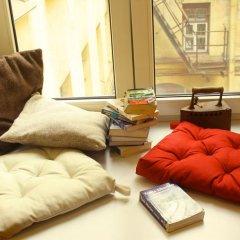 Хостел Бабушка Хаус Номер с общей ванной комнатой с различными типами кроватей (общая ванная комната) фото 13
