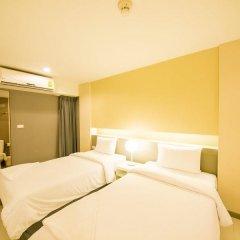 Отель Myhotel Cmyk@Ratchada 3* Стандартный номер с различными типами кроватей фото 7