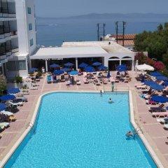 Отель Belair Beach Греция, Родос - 1 отзыв об отеле, цены и фото номеров - забронировать отель Belair Beach онлайн бассейн фото 2