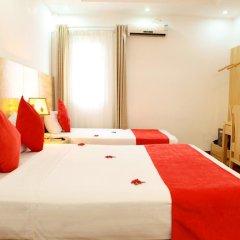 Hanoi Amanda Hotel 3* Стандартный семейный номер с двуспальной кроватью фото 3