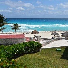 Отель Solymar Cancun Beach Resort пляж фото 4