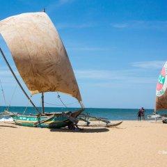 Отель Suriya Arana Шри-Ланка, Негомбо - отзывы, цены и фото номеров - забронировать отель Suriya Arana онлайн пляж фото 2
