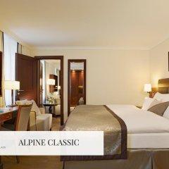 Отель Mont Cervin Palace 5* Стандартный номер с двуспальной кроватью фото 3