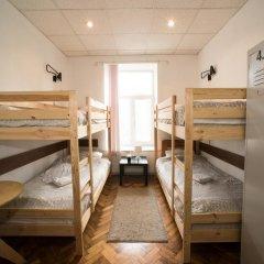 Хостел Архитектор Кровать в общем номере с двухъярусной кроватью фото 16