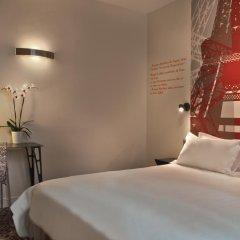 Отель Hôtel Alpha Paris Tour Eiffel by Patrick Hayat 3* Стандартный номер с различными типами кроватей фото 5