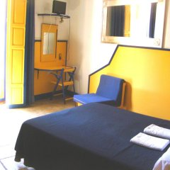 Отель Pension Nuevo Pino Стандартный номер с двуспальной кроватью (общая ванная комната)
