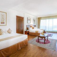 Grand Excelsior Hotel Bur Dubai 4* Стандартный номер с различными типами кроватей