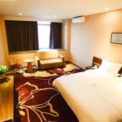 Отель Insail Hotels Railway Station Guangzhou 3* Номер Делюкс с двуспальной кроватью фото 2