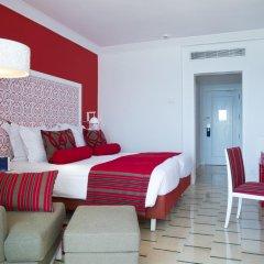 Отель Radisson Blu Resort & Thalasso, Hammamet 5* Стандартный номер с различными типами кроватей фото 8