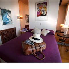Отель Les Pervenches в номере фото 2