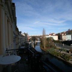 Отель Apartmany U Thermalu Чехия, Карловы Вары - отзывы, цены и фото номеров - забронировать отель Apartmany U Thermalu онлайн балкон