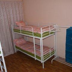 Гостиница Аэрохостел Кровать в общем номере с двухъярусными кроватями