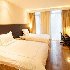Warmly Boutique Hotel Suzhou Jinji Lake Ligongdi Branch 3* Стандартный номер с 2 отдельными кроватями