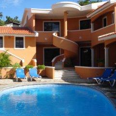 Отель Residence Oasis Доминикана, Бока Чика - отзывы, цены и фото номеров - забронировать отель Residence Oasis онлайн бассейн
