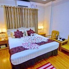 Myat Nan Yone Hotel 3* Улучшенный номер с различными типами кроватей фото 4
