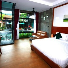 Отель Green View Village Resort 3* Номер Делюкс с различными типами кроватей фото 5