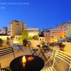 Апартаменты Live in Athens, short stay apartments Студия с различными типами кроватей фото 12