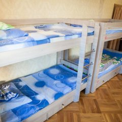 Like Hostel Коломна Кровать в общем номере с двухъярусной кроватью фото 5