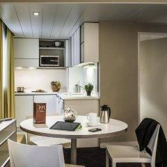 Отель Apparthotel Mercure Paris Boulogne 3* Апартаменты с различными типами кроватей фото 5
