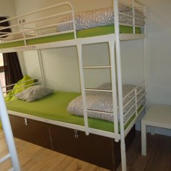 Gracia City Hostel Кровать в общем номере с двухъярусной кроватью фото 2