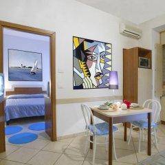 Отель Residence Blu Mediterraneo 2* Апартаменты с различными типами кроватей фото 7